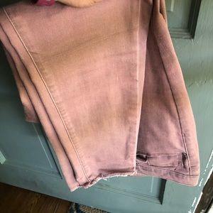 Mauve target jeans